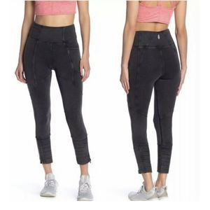 NWT Free People Small Get On It High Rise Leggings